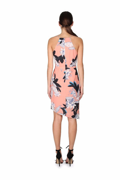 Dreamy Vines Drape Dress - Debbie Lee Fashions