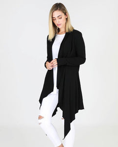 Alexandria Cardigan Black - Debbie Lee Fashions