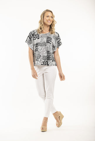 OQ T-SHIRT LOOSE FIT - Debbie Lee Fashions
