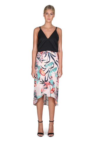 Print Posey Grove Skirt - Debbie Lee Fashions