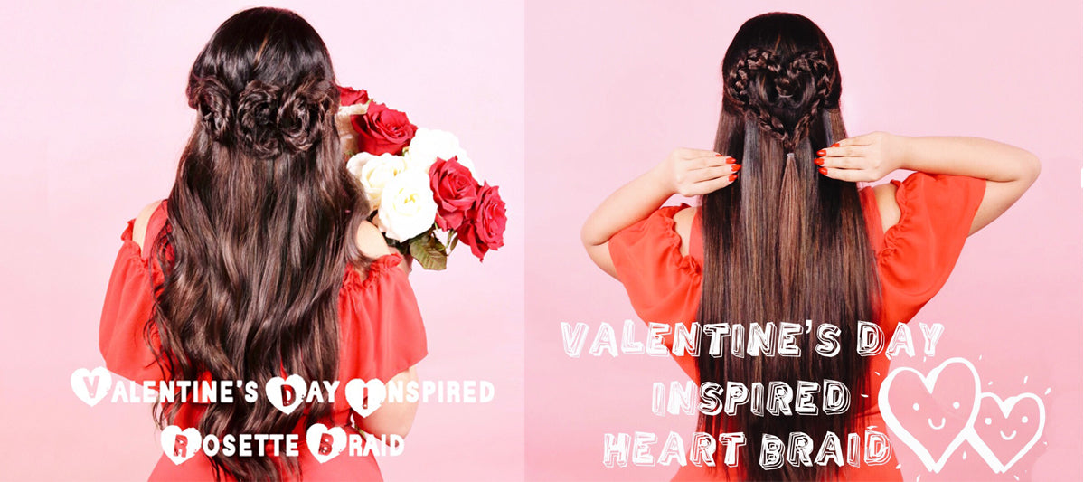 2 Beautiful & Romantic Hairstyles | Valentine's Day