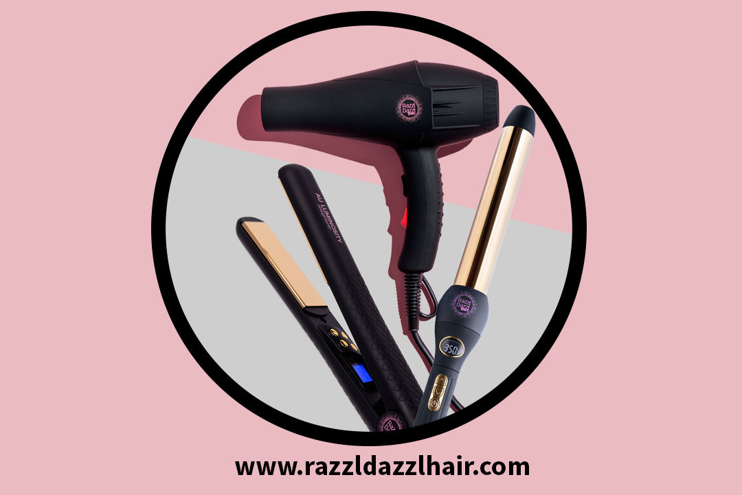 Nano-titanium technology hair styling appliances
