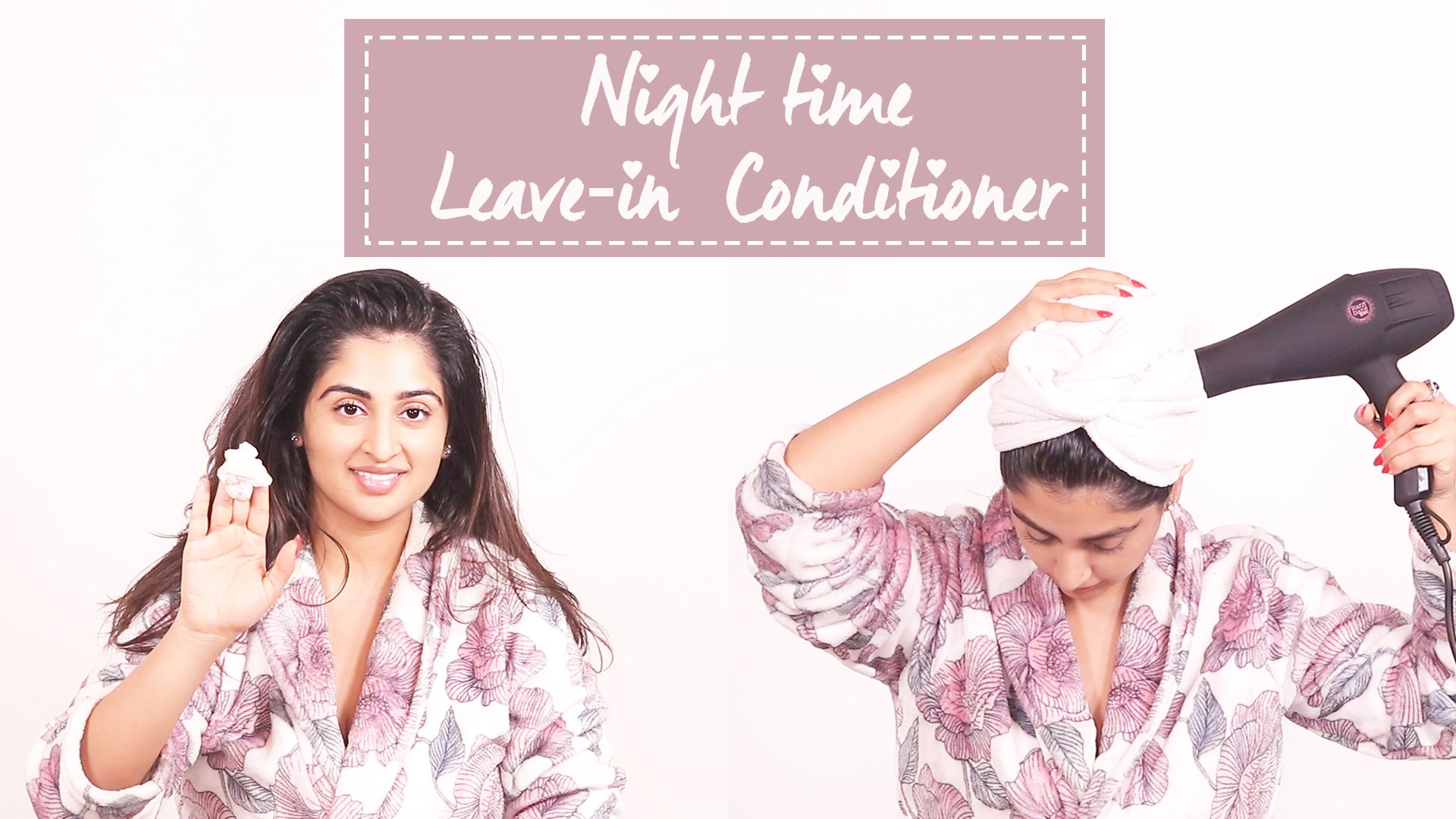 Night time Leave-in conditioner