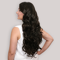 clip-in hair extensions in 160 grams, 20 inches in coloured coffee brown (2)