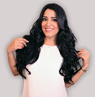 clip-in hair extensions in 160 grams, 20 inches in coloured jet black (1)