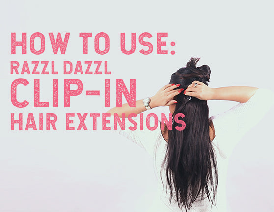 How To Use Clip In Hair Extensions And Hair Styling Appliances