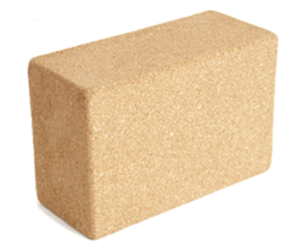 Cork Yoga Block- Balance Core Stretch