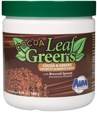 Cocoa Leaf Greens - Benefit of Greens in a cocoa beverage