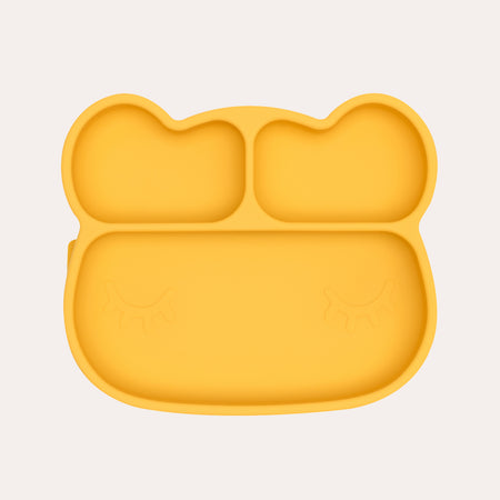 Bear Stickie Plate - Yellow PREORDER
