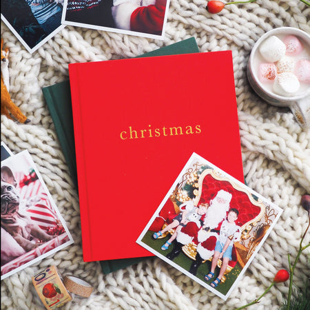 Christmas Family Book - Red