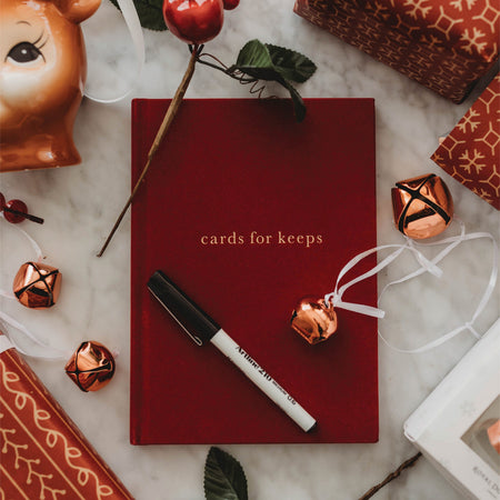 Cards for Keeps - Maroon