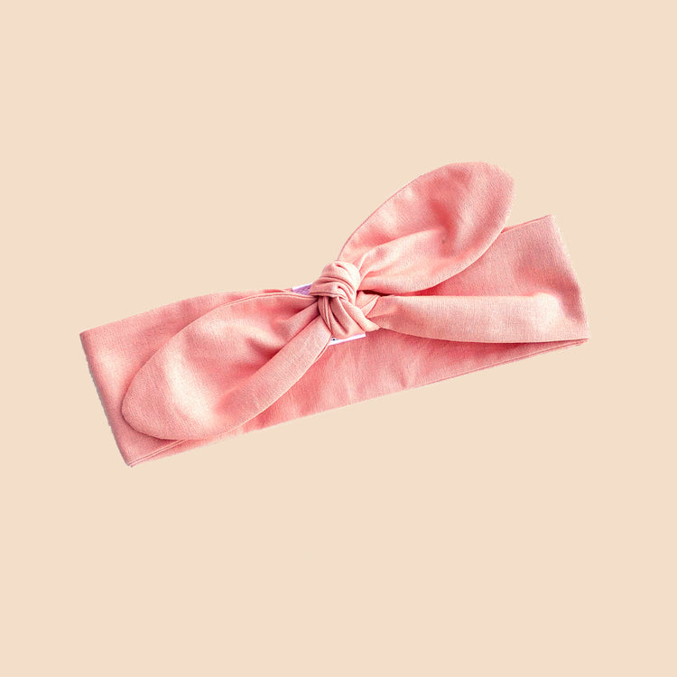 Pink Cotton Headtie
