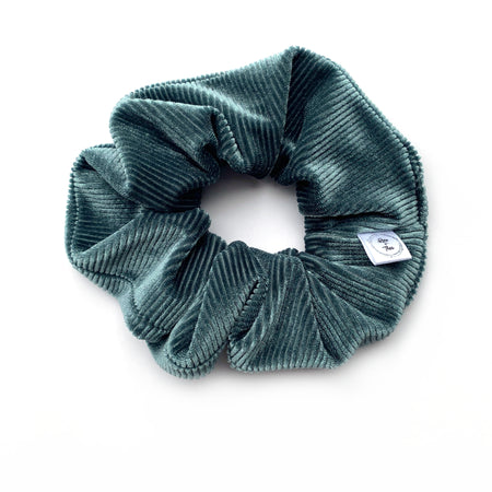 Steel Velvet Scrunchie
