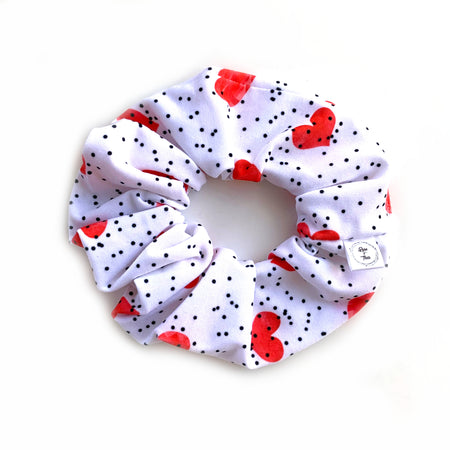 Hearts Scrunchie