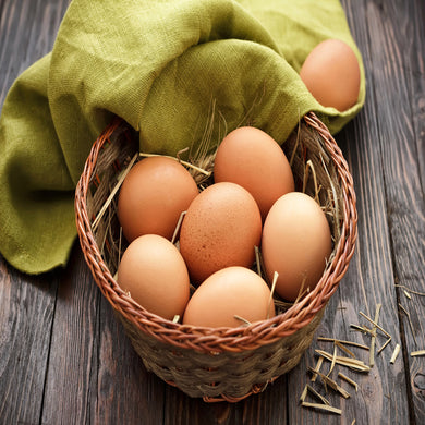 Country Eggs 6 pcs