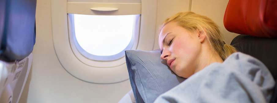 How to Sleep on a Plane - Jet Off to Dream Land