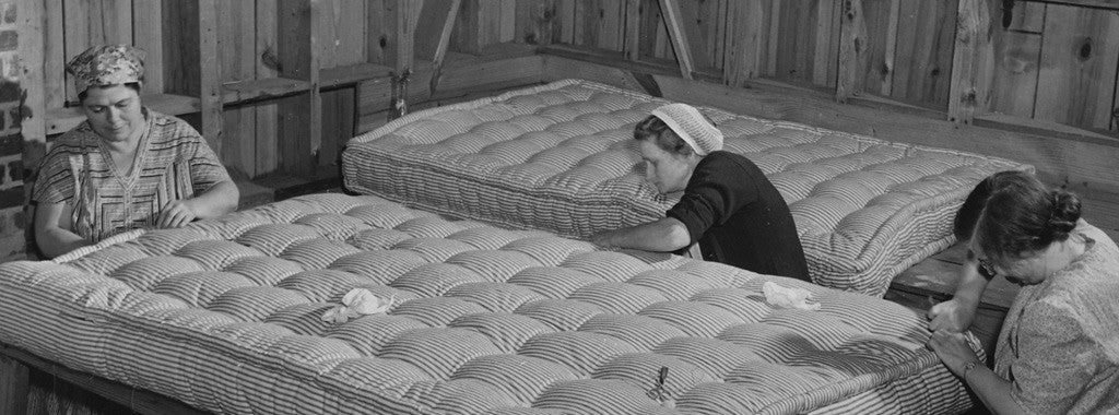 The History of Mattresses - Bed Production in the UK