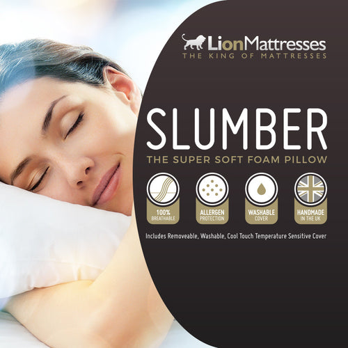 Slumber - Super Soft Foam Pillow