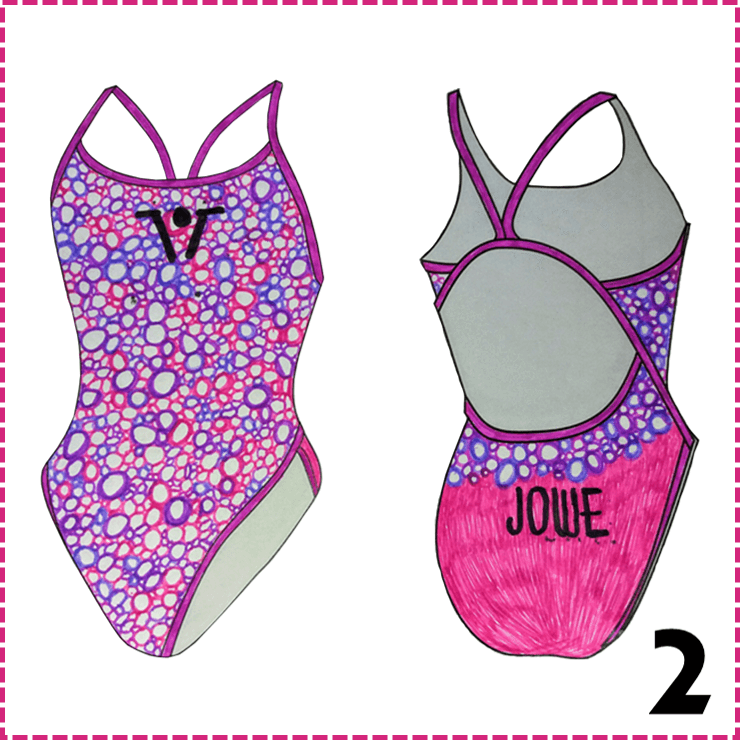The Winner of our Design a Swim Suit Competition!
