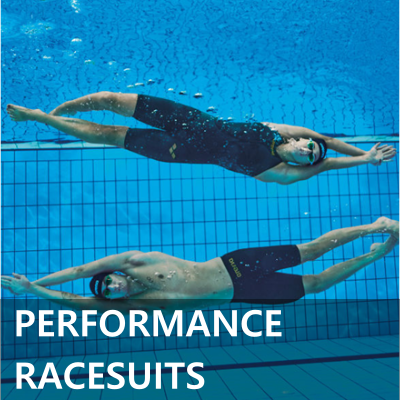 Arena Women's and Men's Performance Racesuits - Kneeskins and Jammers