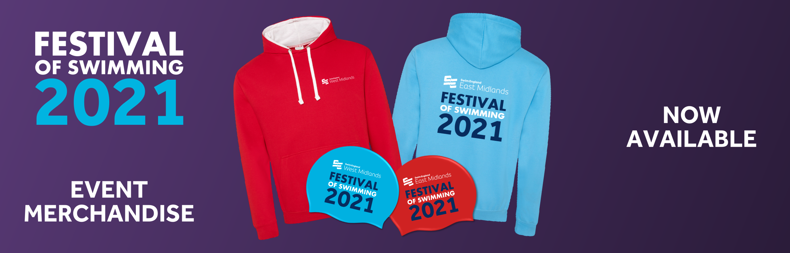Festival of Swimming 2021 - Hoodies and Swimming Caps