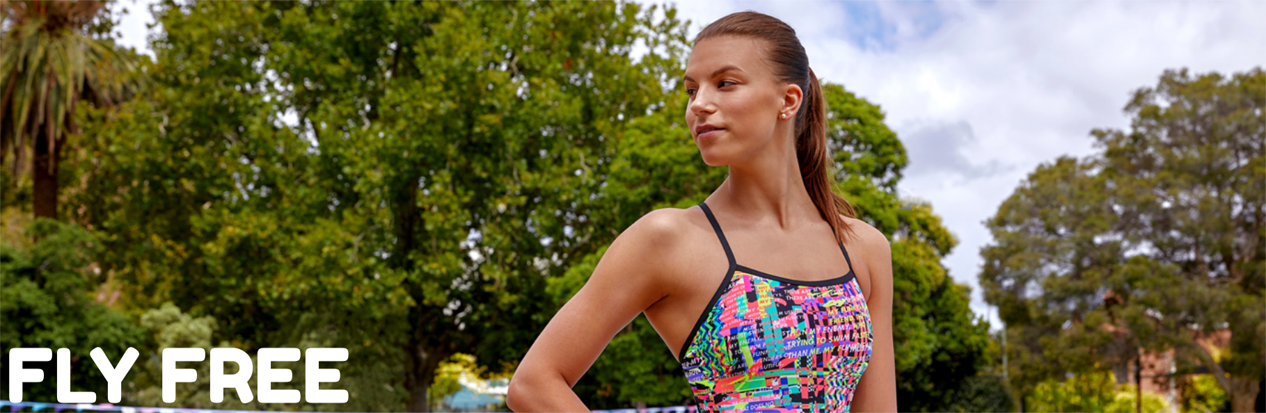 Funkita & Funky Trunks Fly Free Collection Banner