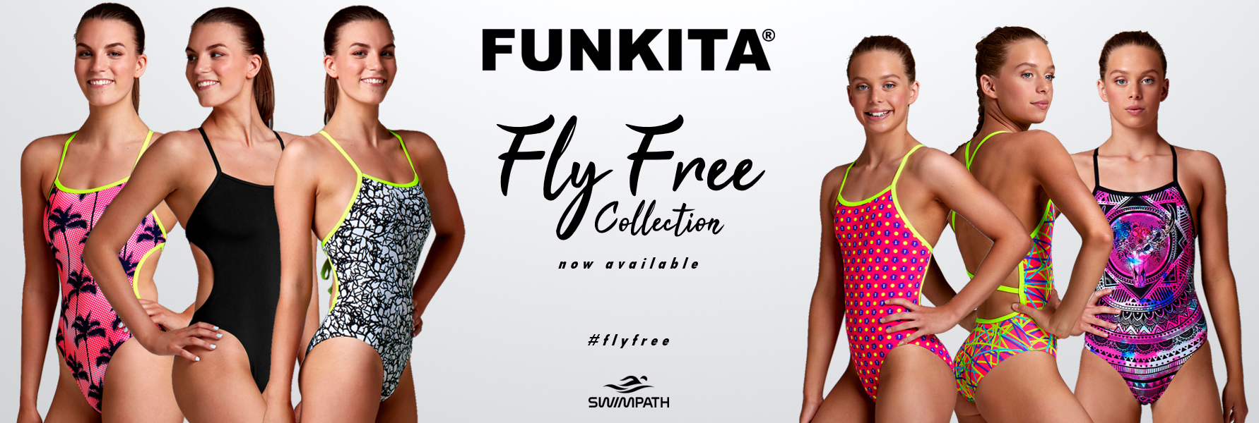 Funkita Fly Free Swimsuit Collection available at SwimPath
