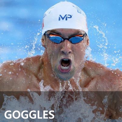 MP Michael Phelps Performance Swimming Goggles