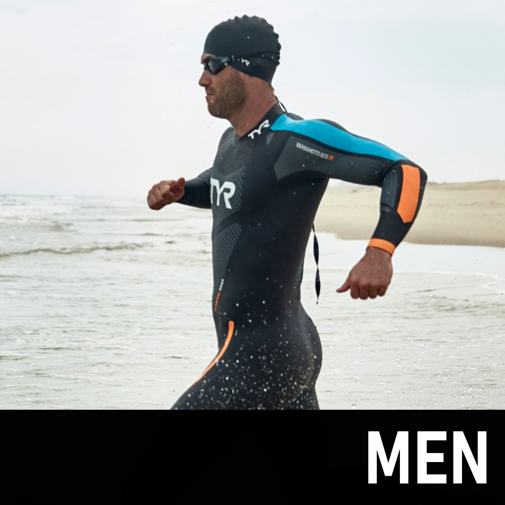 Mens Triathlon Shop - Wetsuits, Trisuits and Training Equipment