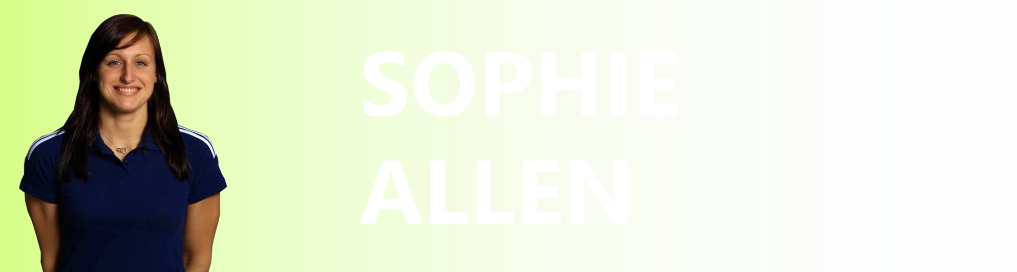 Sophie Allen SwimPath Team Profile Page