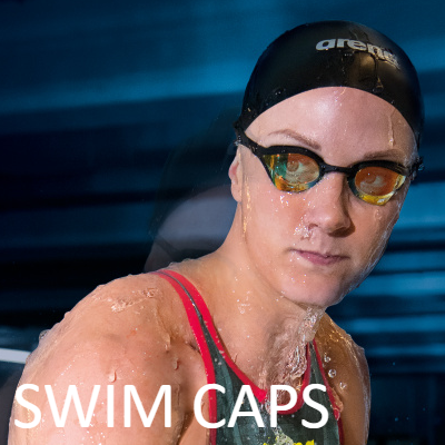 Swimming Caps|Silicone and Racing|Arena, Speedo, Funkita and Custom Printed SwimCaps