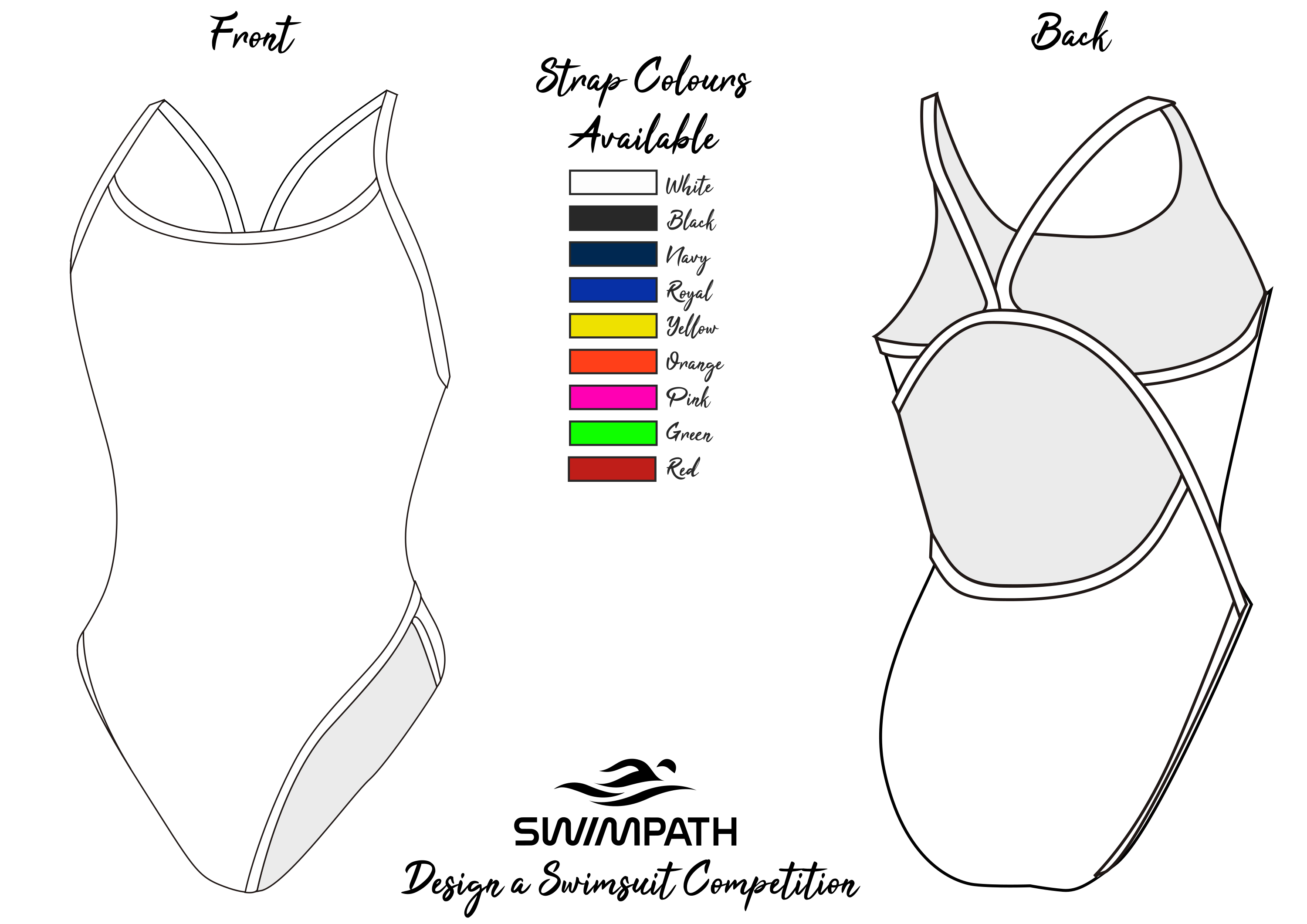 SwimPath Design a Swimsuit Competition Template