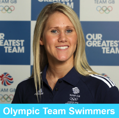 Olympic Team Swimmers