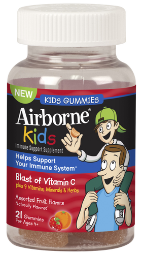 Airborne Vitamin C Gummies for Kids 21 ct