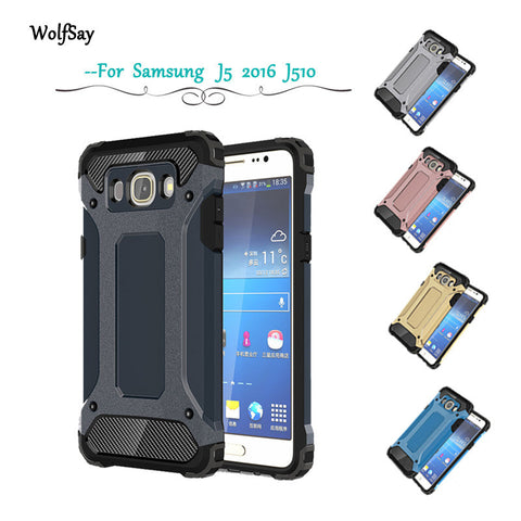 Anti-Shock Silicone Case For Samsung galaxy J5 2016 J510 J510F