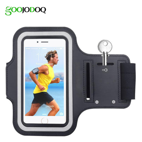 Waterproof Sports Running Phone Armband for IPhone 4 4S 5 5S 5C SE 6 6s Plus iPod Touch 5