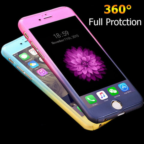 360 Degree Full Body Protection Cases For iPhone 6 For iPhone 6S Plus
