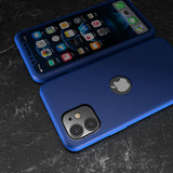 360° Кейс за Apple iPhone 12 Mini - Син