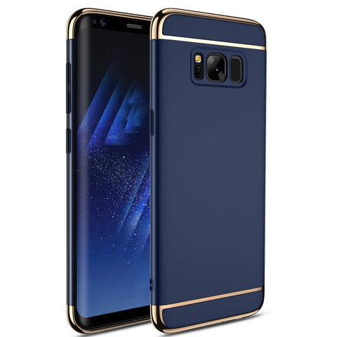 Син кейс за Samsung Galaxy S8 Plus