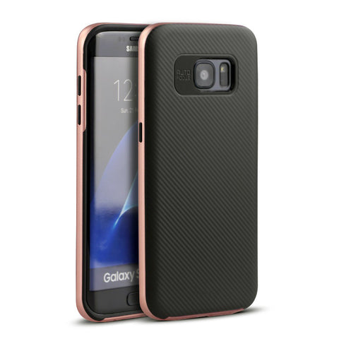 Samsung S7 EDGE Rose Gold калъф