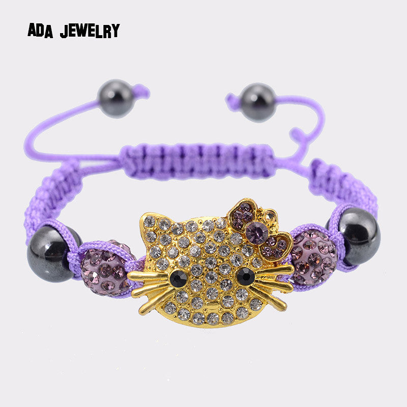 Handmade Hello Kitty Bracelet for Kids