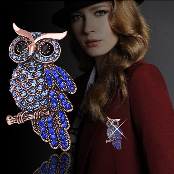 Hot Pin Charming Chic High-grade Owl Brooch