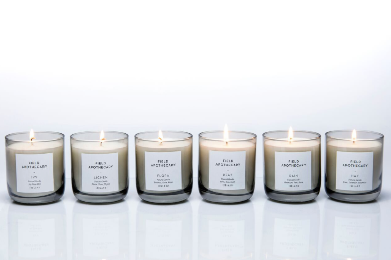 100% Soy Wax Irish Candles