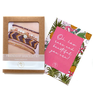 Friendship Bracelet Kit - Berry - The Boutique LLC