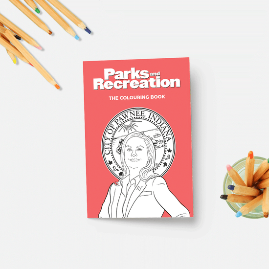 Parks and Recreation Colouring Book - The Boutique LLC