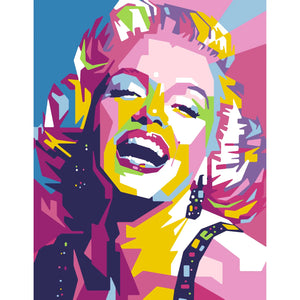 PREORDER: Marilyn | DIY Paint By Numbers Kit - The Boutique LLC