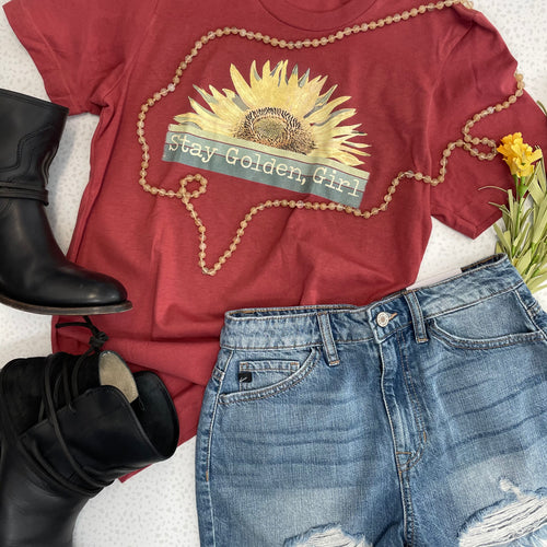 Stay Golden Girl | Graphic Tee - The Boutique LLC