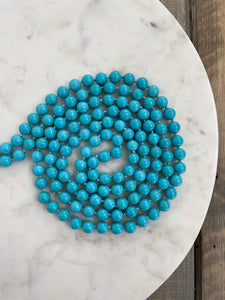 Classic Beaded Necklace | Turquoise - The Boutique LLC
