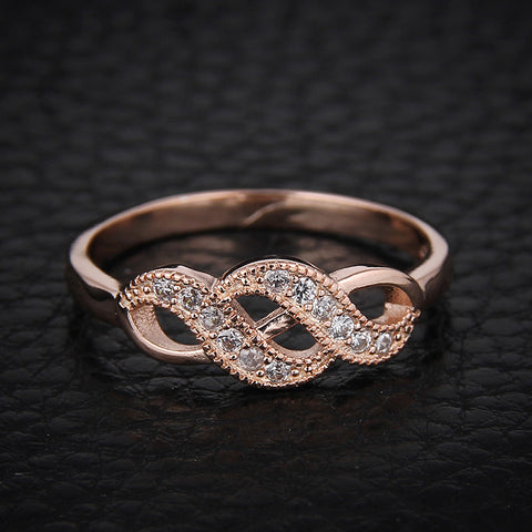 Rose Gold Plated Austrian Crystal