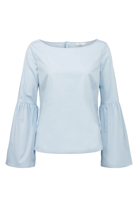 bell sleeve top forynde